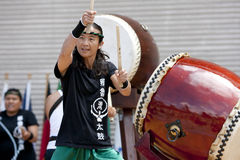 Taiko Drummers Stock Photos