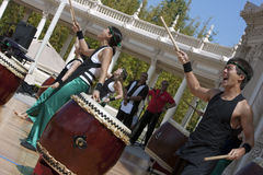 Taiko Drummers Royalty Free Stock Image