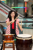 Taiko drummers Stock Image