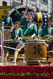 Taiko Drummers at the San Francisco Cherry Blossom Festival Royalty Free Stock Photos