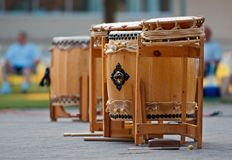 Taiko Drums Stock Photography