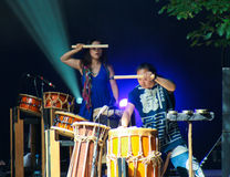 taiko gocoo барабанщиков Стоковое Изображение RF