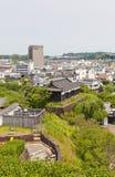 Taiko Turret of Kakegawa Castle, Shizuoka Prefecture, Japan. Survived Taiko Drum Turret circa 17th c. of Kakegawa Castle, Japan. Castle was founded in 1497 by Stock Photos
