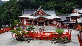 Taikodani Inari relikskrin i Tsuwano royaltyfria bilder