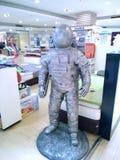 taikonautskulptur i köpcentrum Fotografering för Bildbyråer
