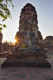 TAILÂNDIA, Auytthaya, templos Fotografia de Stock