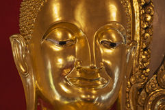 Tailândia, Banguecoque, Buddha dourado Imagem de Stock Royalty Free