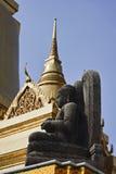 Tailândia, Banguecoque, palácio imperial Fotografia de Stock