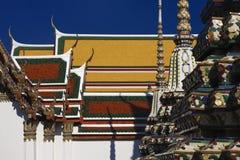 Tailândia, Banguecoque, Pranon Wat Pho Fotografia de Stock