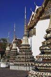 Tailândia, Banguecoque, Pranon Wat Pho Imagens de Stock