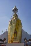 Tailândia, Banguecoque, templo de Indrawiharn Imagem de Stock