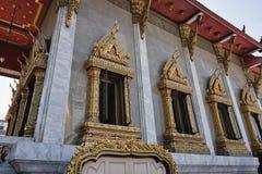 Tailândia, Banguecoque, templo de Indrawiharn Fotos de Stock Royalty Free