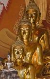 Tailândia, Banguecoque, templo de Indrawiharn Fotografia de Stock