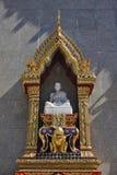 Tailândia, Banguecoque, templo de Indrawiharn Imagem de Stock Royalty Free
