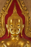 Tailândia, Banguecoque, templo de Traimit Foto de Stock Royalty Free