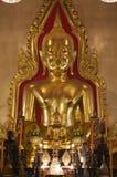 Tailândia, Banguecoque, templo de Traimit Imagem de Stock