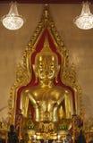 Tailândia, Banguecoque, templo de Traimit Imagem de Stock Royalty Free