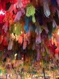 Tailândia Cultre Festival krathing loy de It's imagem de stock royalty free