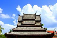 Tailândia de madeira antiga Fotos de Stock