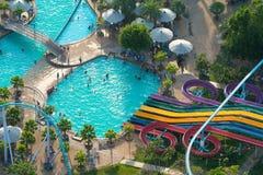 TAILÂNDIA - 31 de outubro de 2015: Attractio do turista do major do parque de PATTAYA Imagem de Stock Royalty Free