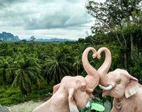 Tailândia, elefantes Imagem de Stock