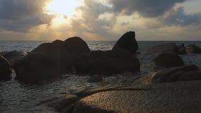 Tailândia, Ko Samui, praia de Lamai vídeos de arquivo