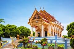 Tailândia, Koh Samui, templo de Kunaram Imagens de Stock Royalty Free