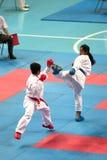 Tailândia Open Karaté-faz o campeonato 2013 Imagem de Stock