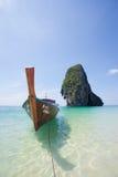Tailândia - praia de Phra Nang Imagem de Stock Royalty Free
