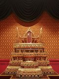 Tailândia, trono de Pudtan foto de stock royalty free