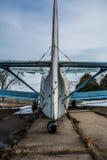 Tail aircraft Stock Photo