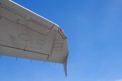 Tail of aircraft Royalty Free Stock Images