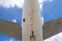 Tail of aircraft Stock Photography
