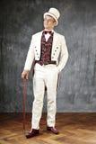 Tail coat gentleman Royalty Free Stock Photo