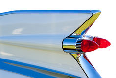 Tail fin. From a 1959 Cadillac convertible stock image