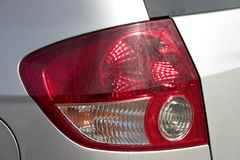 Tail light. Close up.  concept. Tail ligh automobile part stock images