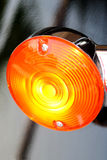 Tail Light. On a motorcycle Royalty Free Stock Photos