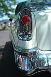 Tail-light and bumper. Of antique car Royalty Free Stock Photos