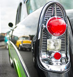 Tail light of a classic American car Stock Photo