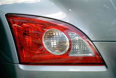 Tail-light do fogo cruzado Foto de Stock