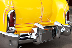 Tail Light and Fin of a Classic Car Royalty Free Stock Photography