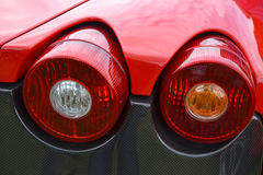 Tail Lights Stock Photo