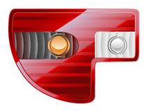 Tail lights Royalty Free Stock Photos