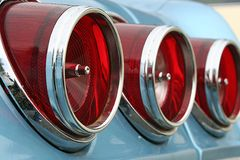 Tail lights Royalty Free Stock Image