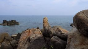 Tail?ndia, Ko Samui, Hin Ta e Hin Yai, praia de Lamai filme