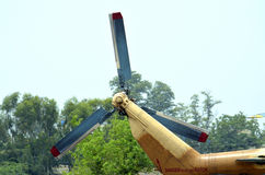 Tail Rotor of Helicopter! Stock Photography