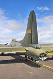 Tail section of a B-17 Flying Fortress Stock Images