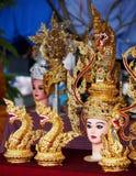 Tailandés adorne el recuerdo con la tradición Imagenes de archivo