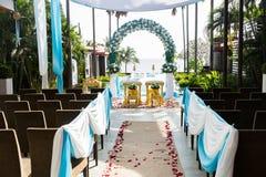 tailandés adorne la boda Imágenes de archivo libres de regalías