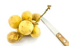 Tailandés-fruta con Longkong conocido Imagen de archivo libre de regalías